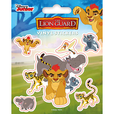 The Lion Guard Vinyl Sticker Sheet