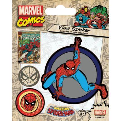 Fiche d'autocollants Spider-Man en vinyle