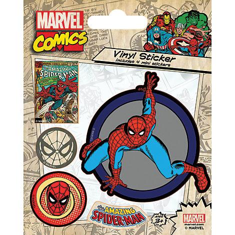 Spider-Man Vinyl Sticker Sheet