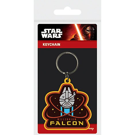 Star Wars Millennium Falcon Key Ring