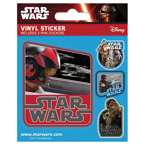 Star Wars - Bogen mit Vinyl-Stickern