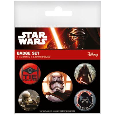 Star Wars: Das Erwachen der Macht - Aufnäher, 5er-Set