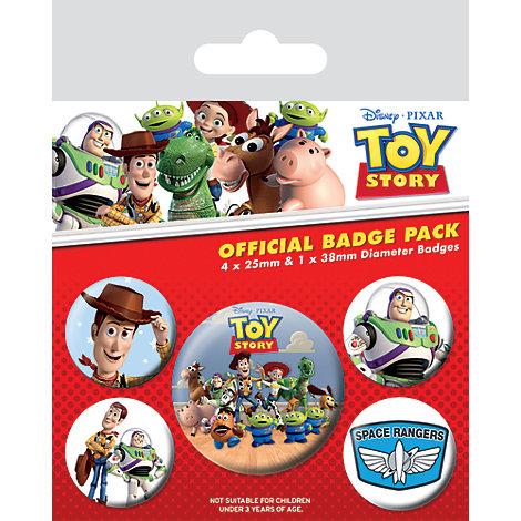 Ensemble de 5 écussons Toy Story