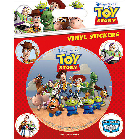 Toy Story Vinyl Sticker Sheet