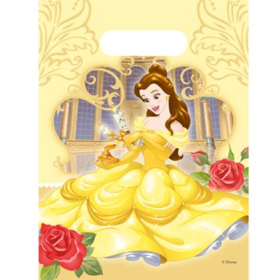 Beauty And The Beast 6x Party Bag Pack