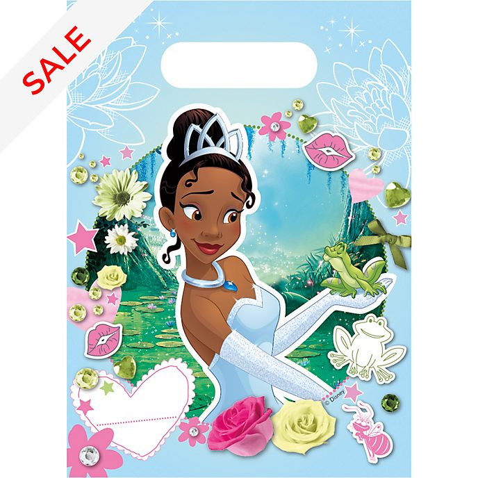 Tiana x6 Party Bags, The Princess and the Frog