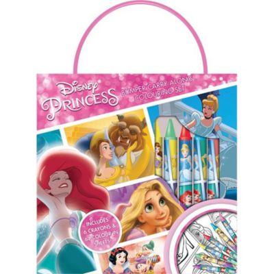 Disney Princess Carry Along Colouring Set