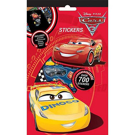 Disney Pixar Cars 3 700+ Sticker Pack