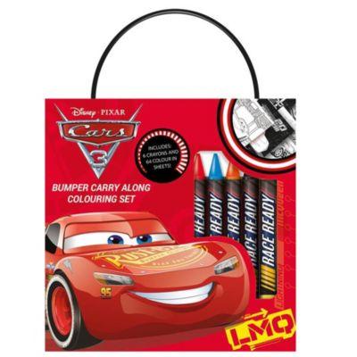 Disney Pixar Cars 3 Carry Along Colouring Set