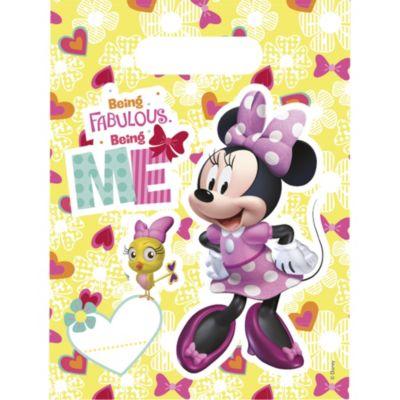 Set de 6 bolsas de fiesta de Minnie