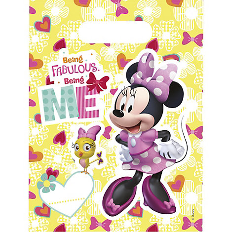 Minnie Mouse x6 Party Bags