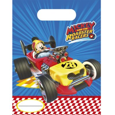 Mickey and the Roadster Racers x6 Party Bags