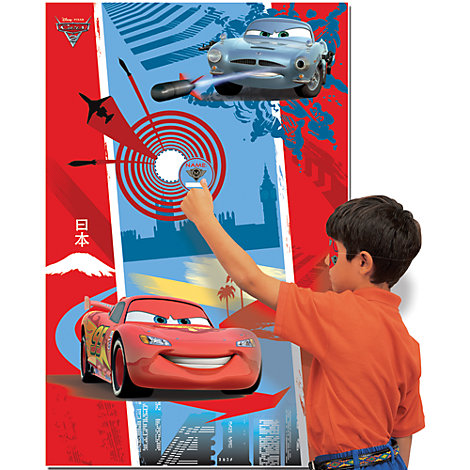 Juego punter¡a fiesta Disney Pixar Cars