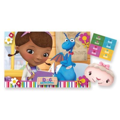 Doc McStuffins Stick The Plaster Party Game