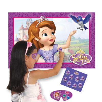Sofia die Erste - Kleb das Amulett Partyspiel