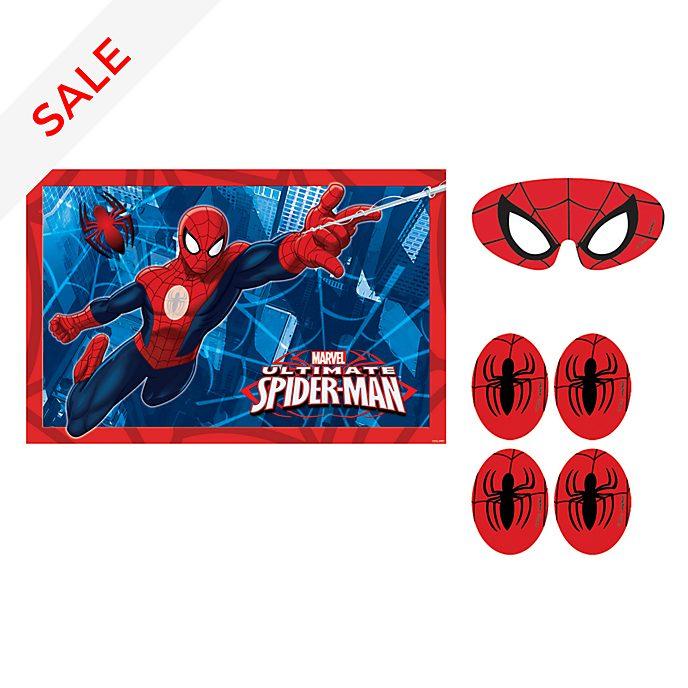 Disney Store Spider-Man Stick The Spider Party Game