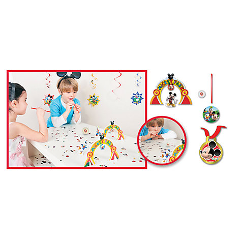 Mickey Mouse Blow Ball Party Game