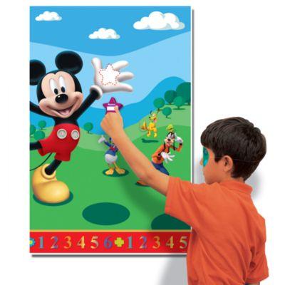 Micky Maus - Ballonschmücken Partyspiel