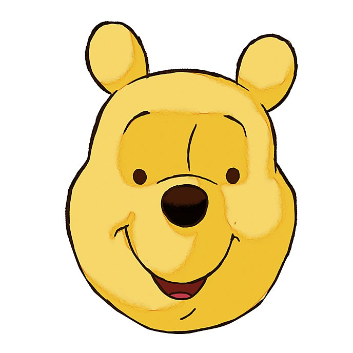 Máscara Winnie the Pooh