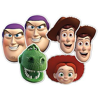 Disney Store Toy Story 6x Masks Set
