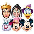 Disney Store – Micky Maus und Freunde – 6-teiliges Halloween-Maskenset