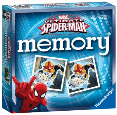 Spider-Man Matching Pairs Memory Game