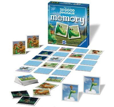 Il Viaggio di Arlo, gioco memory