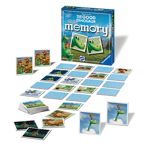 The Good Dinosaur Matching Pairs Memory Game