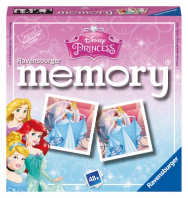 Disney Princess Matching Pairs Memory Game