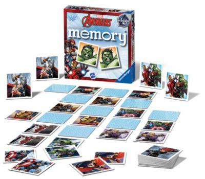 Avengers Matching Pairs Memory Game
