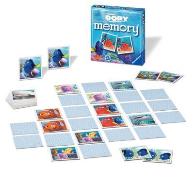 Findet Dorie - Memory-Kartenspiel