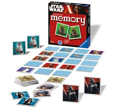Star Wars Matching Pairs Memory Game