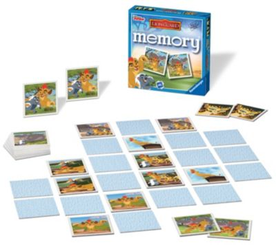 The Lion Guard Matching Pairs Memory Game