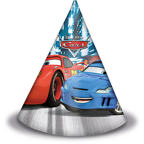 Disney Pixar Cars 6x Party Hats