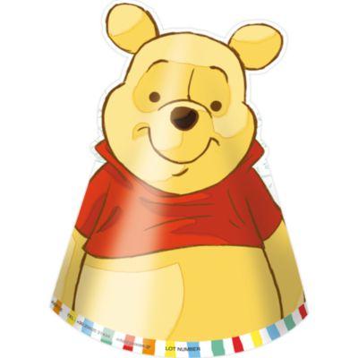 Gorros fiesta Winnie the Pooh (6 u.)