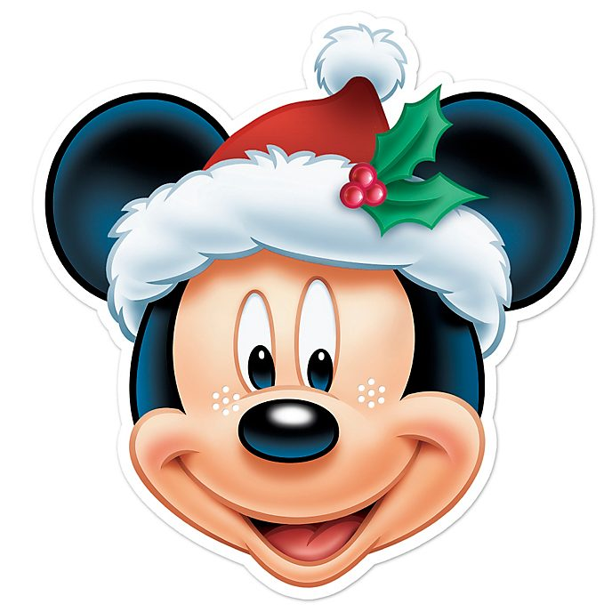 Disney Store Mickey Mouse Christmas Mask