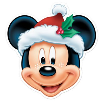 Micky Maus - Weihnachtsmaske