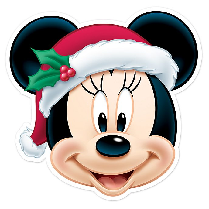 Disney Store Minnie Mouse Christmas Mask