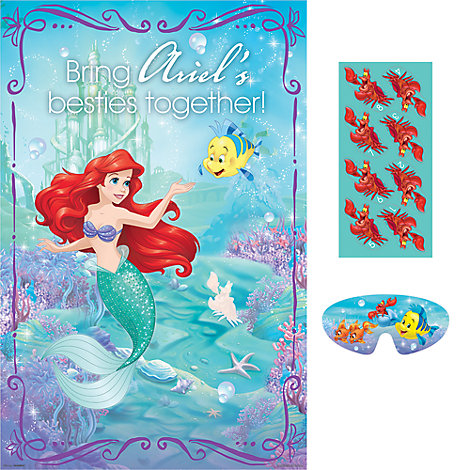 The Little Mermaid Party Game