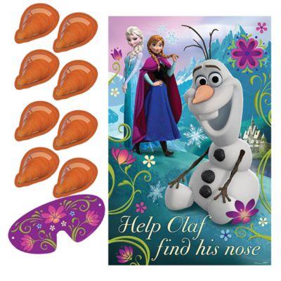 Jeu de fête Olaf, La Reine des Neiges