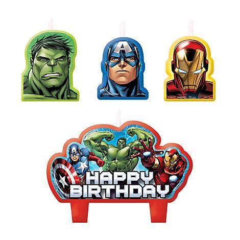 Set velas cumpleaños Los Vengadores