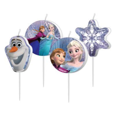 Set candele di compleanno Frozen - Il Regno di Ghiaccio
