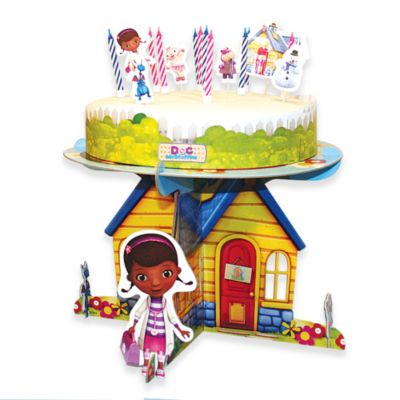Ensemble de décorations pour gâteau Docteur La Peluche