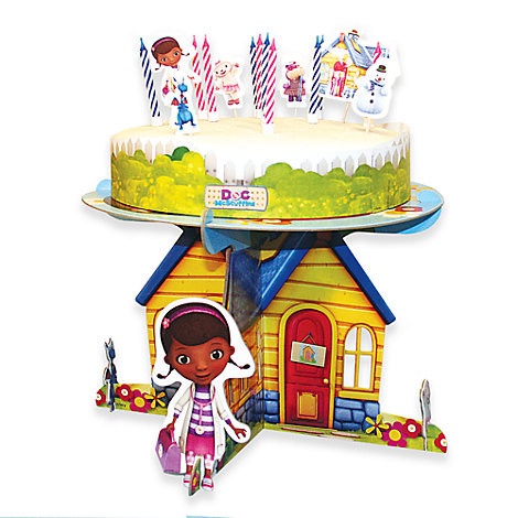 Doc McStuffins Cake Decorating Set