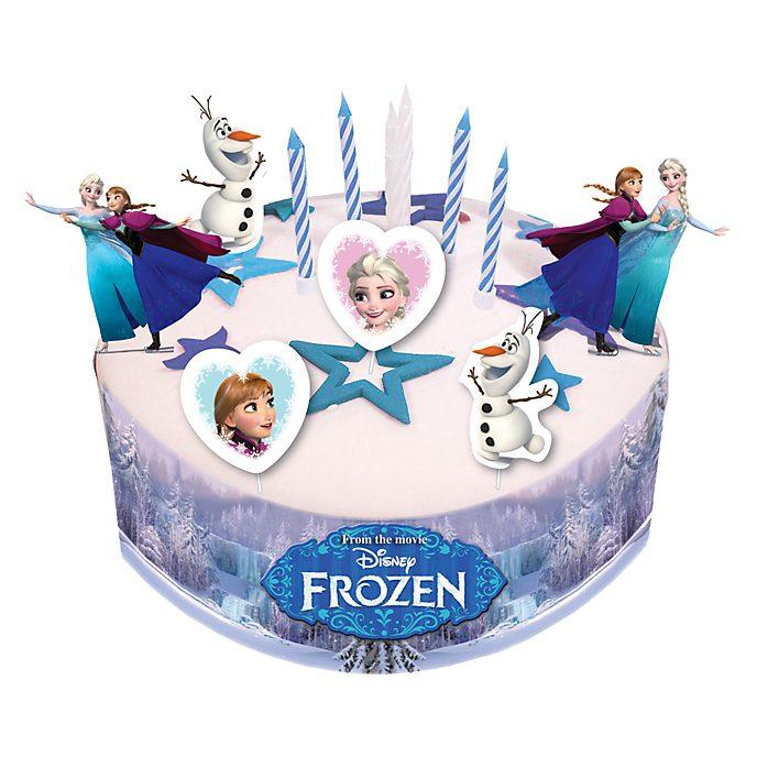 Set decorazione per torta Frozen - Il Regno di Ghiaccio