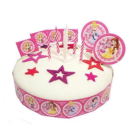 Disney Prinsesse sæt med kagepynt