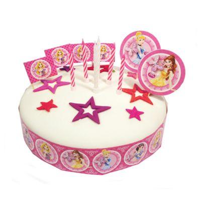 Cake Decorating Disney Characters : Disney Princess Cake Decorating Set