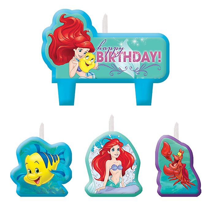 Set de velas de La Sirenita