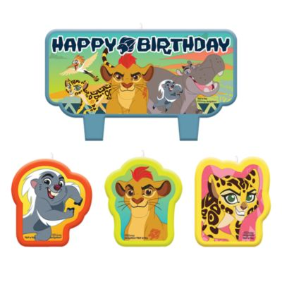 Die Garde der Löwen - Geburtstagskerzenset