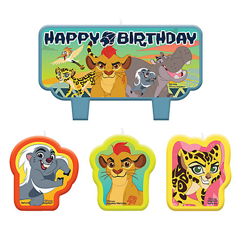 Set velas cumpleaños La Guardia del León